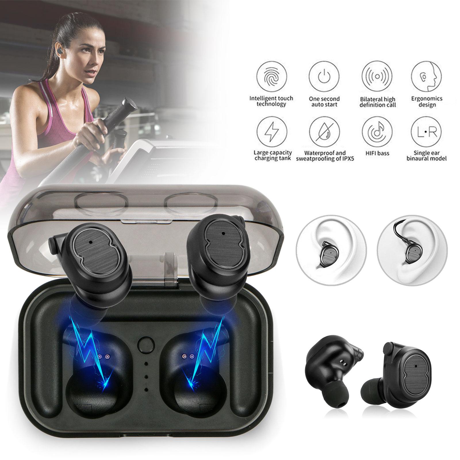 Touch Mini True Wireless Bluetooth 5.0 Earbuds Twins Headset Earphone Headphone