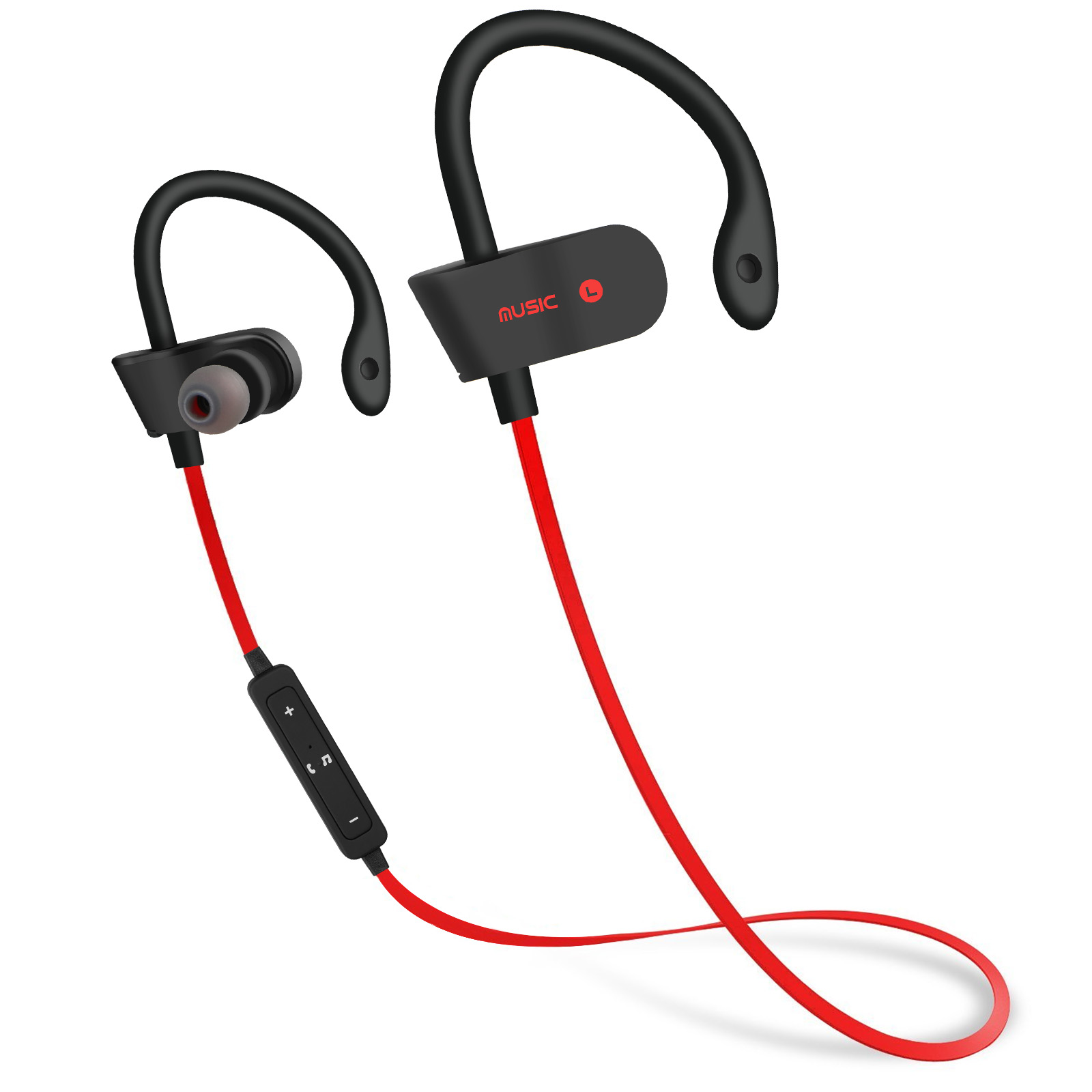 Sweatproof Headphones Wireless Bluetooth Sport Earphones Stereo Headset Earbuds