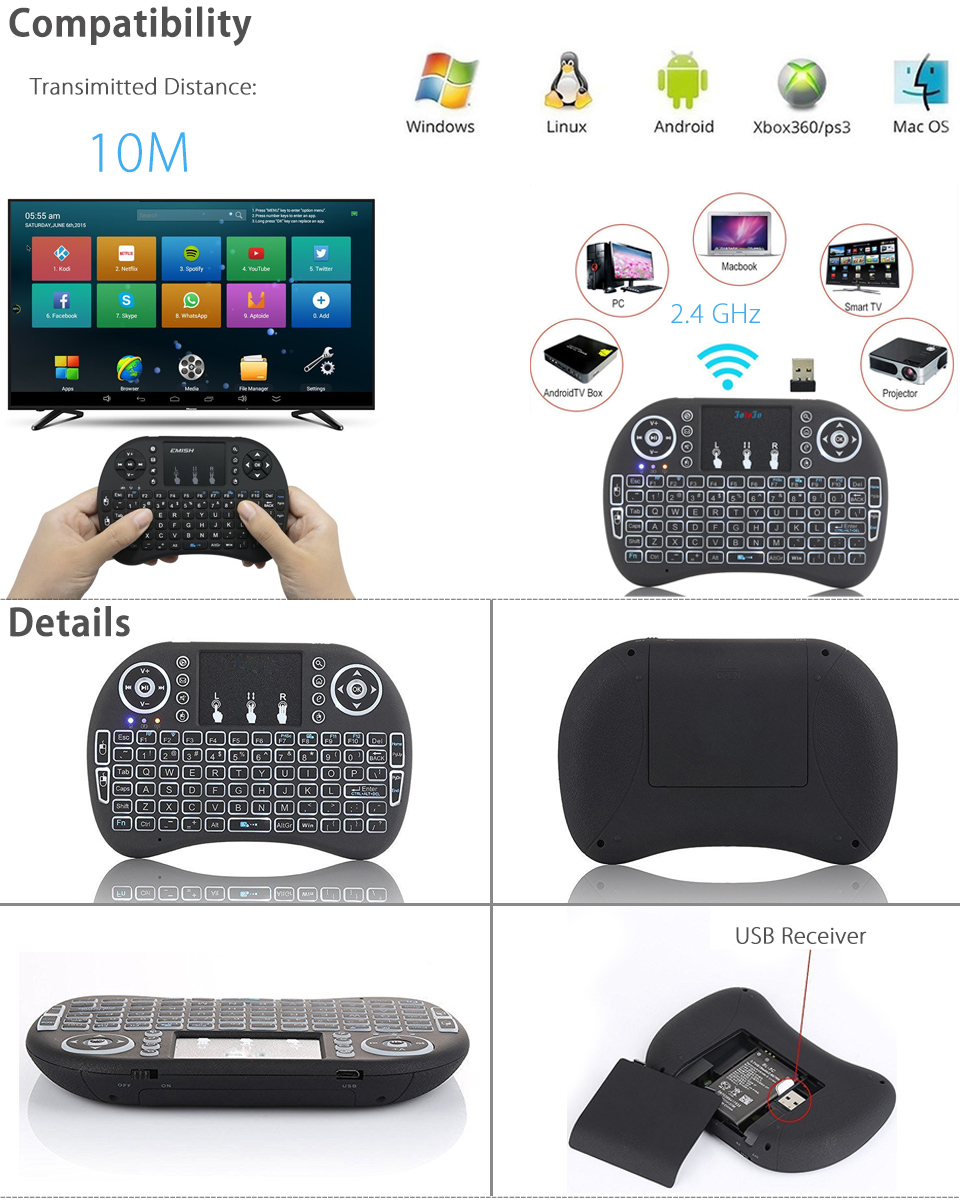 how to connect wireless keyboard to smart tv