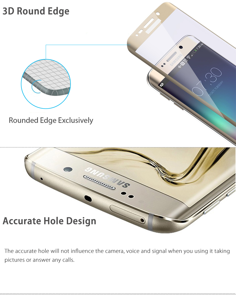 how to put tempered glass on samsung s6