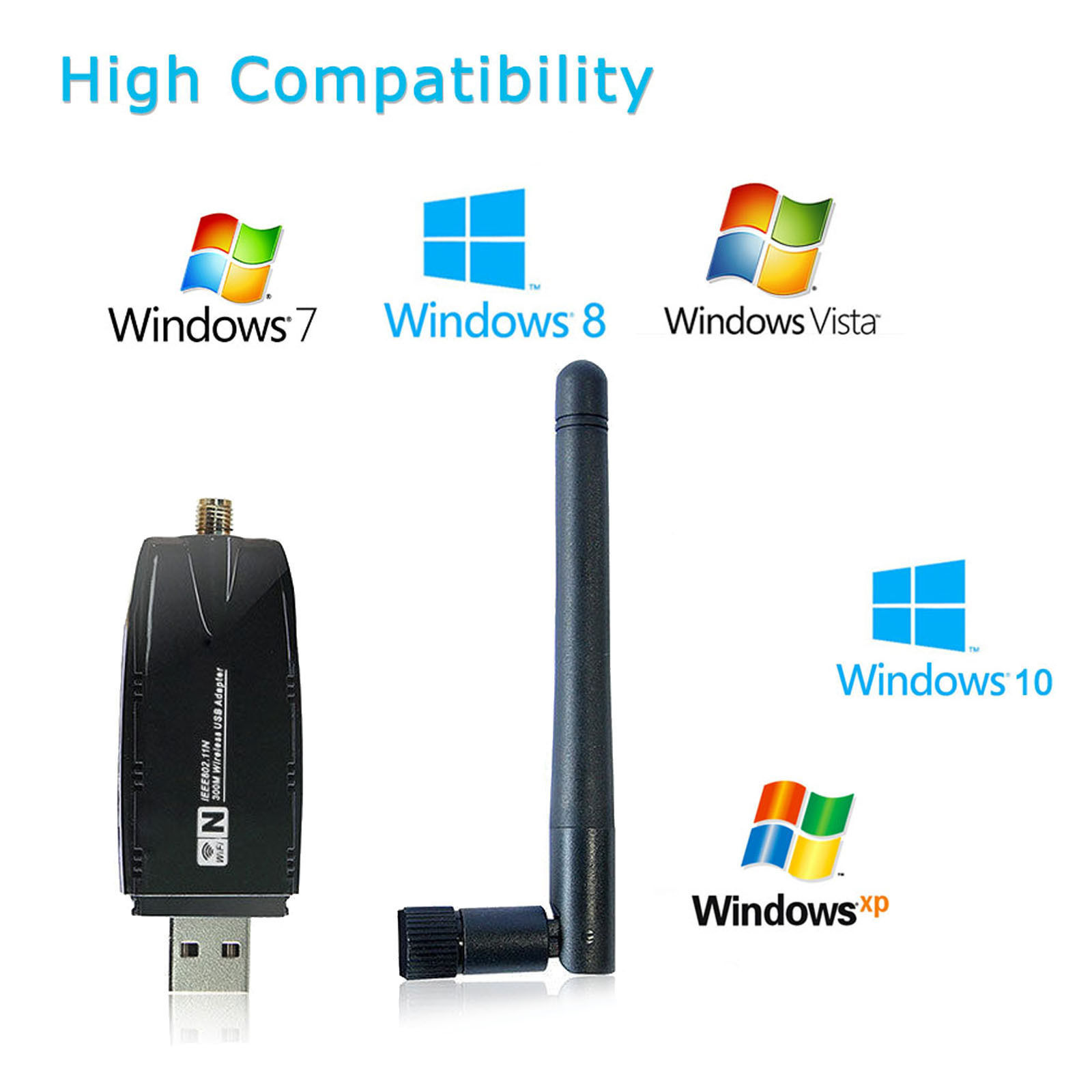 1200Mbps-Dual-Band-2-4GHz-5GHz-Wireless-USB-3-0-WiFi-Adapter-802-11AC-w-Antenna thumbnail 20