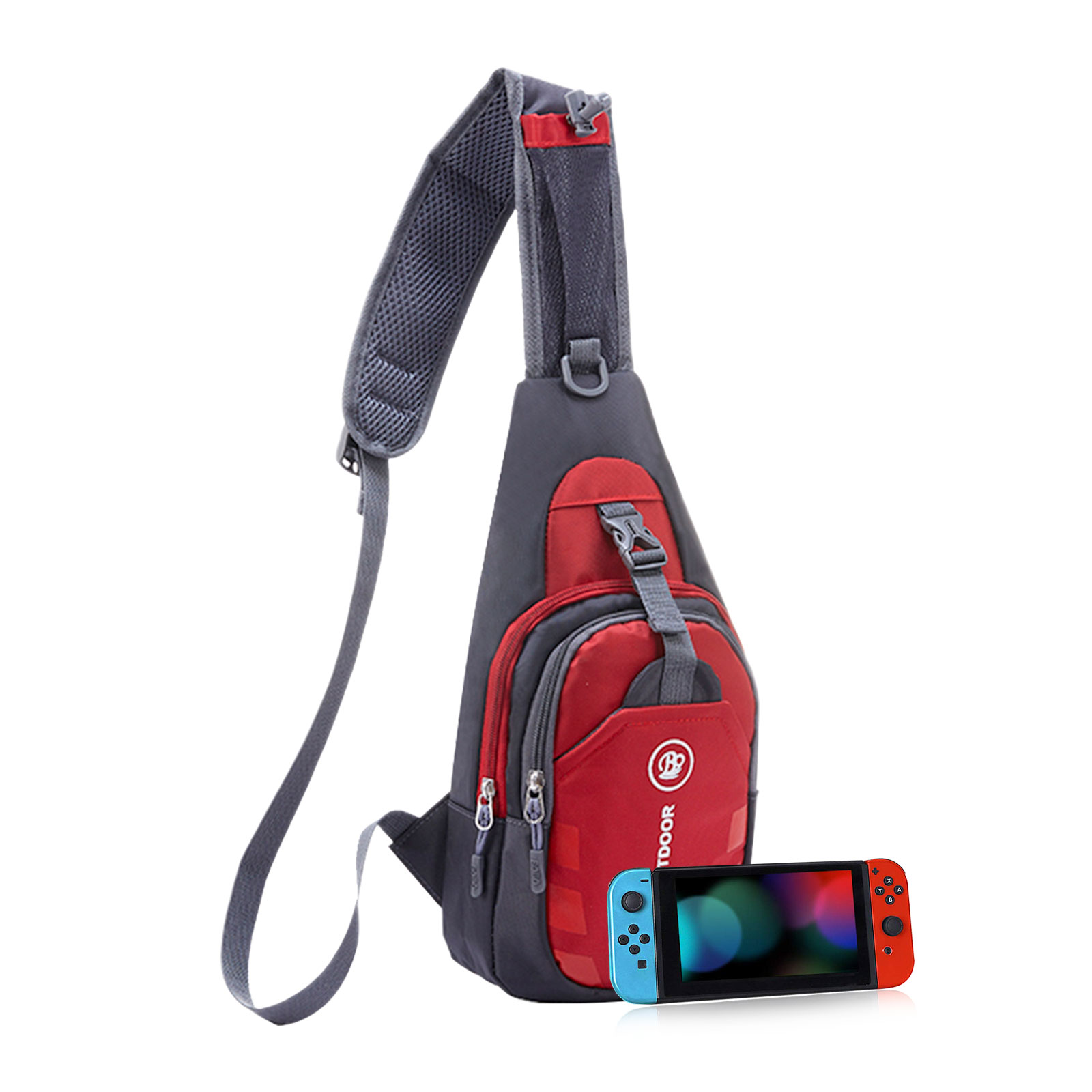 Men-039-s-Nylon-Crossbody-Shoulder-Bags-Chest-Cycle-Sling-Pack-Daily-Travel-Backpack thumbnail 13