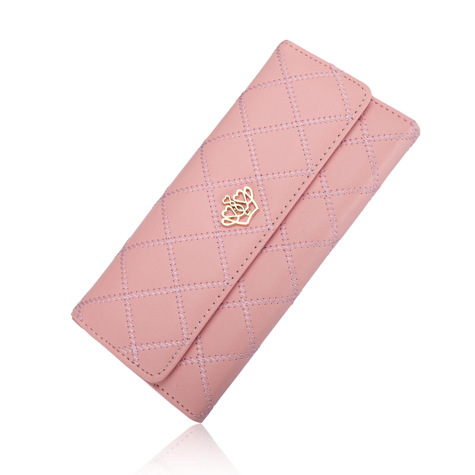 Women-Fashion-Bifold-Wallet-Leather-Clutch-Card-Holder-Purse-Lady-Long-Handbag thumbnail 11
