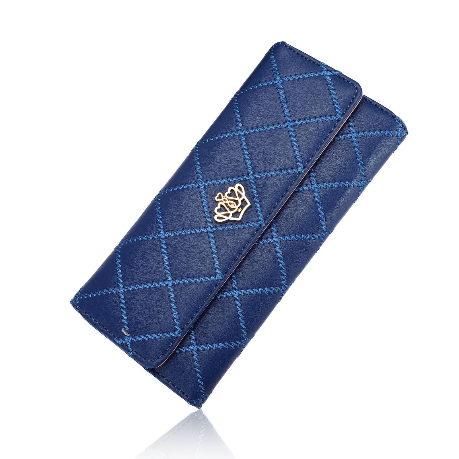 Women-Fashion-Bifold-Wallet-Leather-Clutch-Card-Holder-Purse-Lady-Long-Handbag thumbnail 10