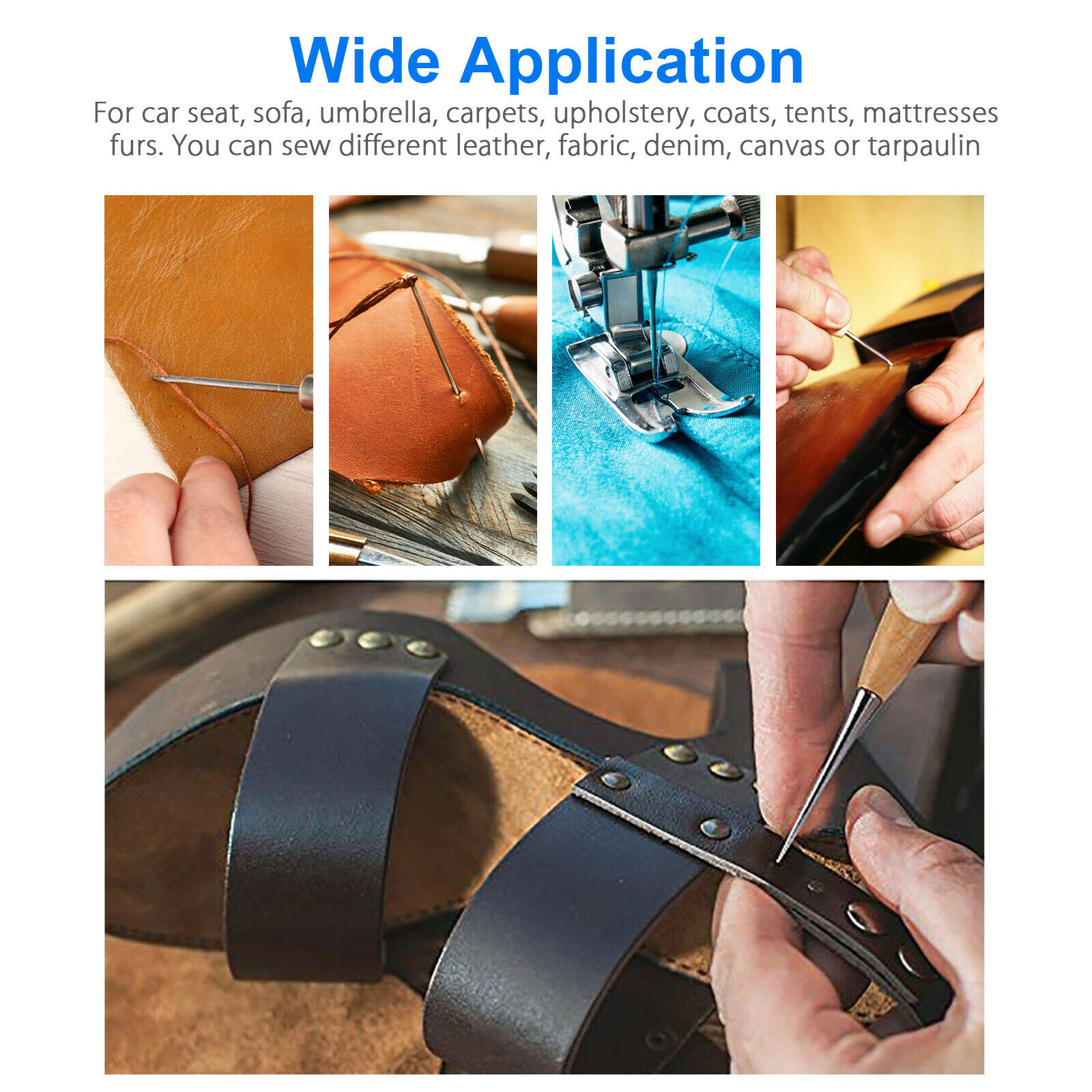 24-Leather-Craft-Punch-Tools-Kit-Stitching-Carving-Working-Sewing-Saddle-Groover thumbnail 4