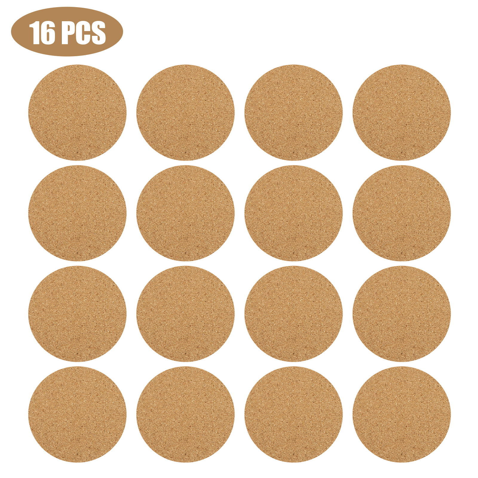 8-16pcs-Cork-Drink-Coasters-Tea-Coffee-Absorbent-Round-Cup-Mat-Table-Decor-Home thumbnail 9
