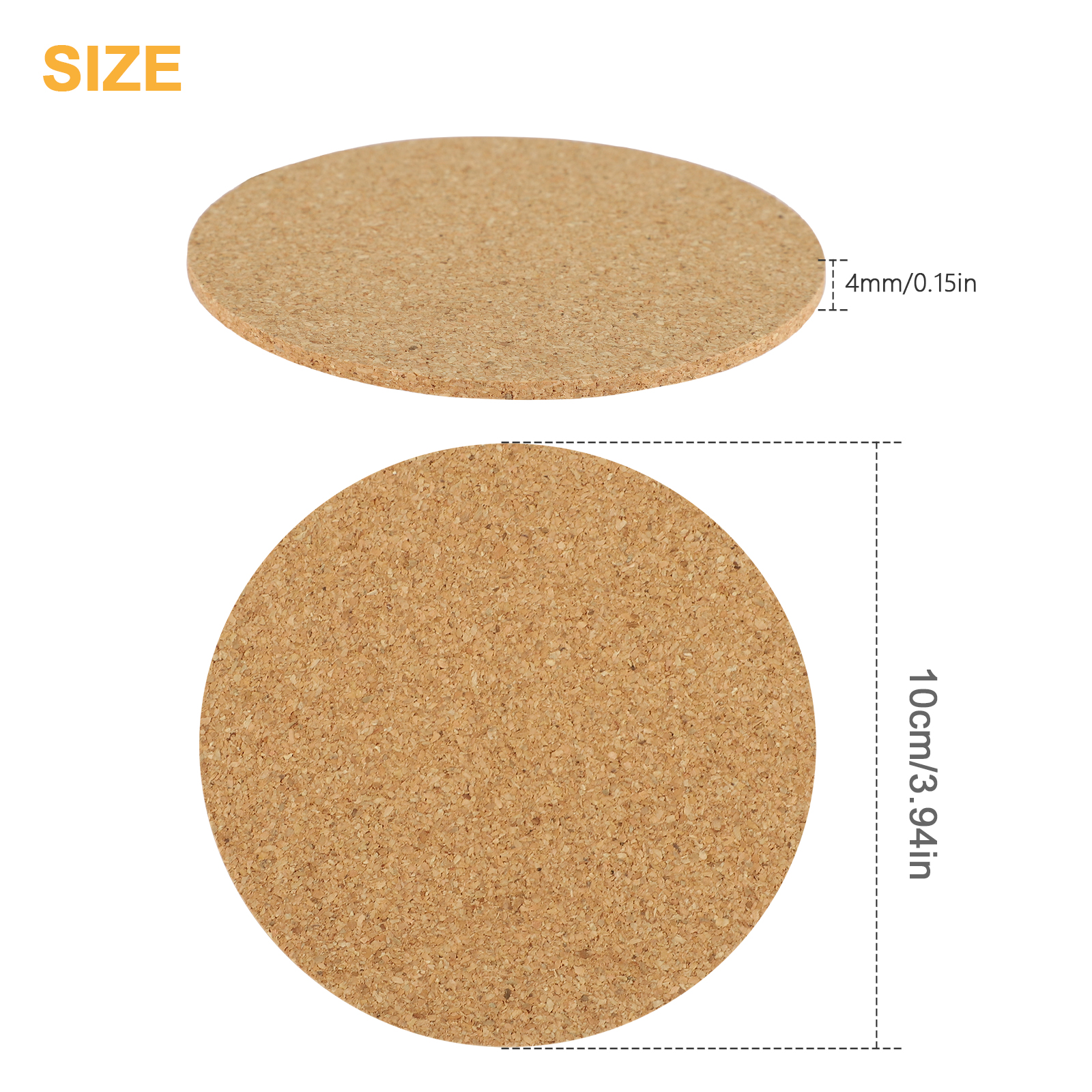 8-16pcs-Cork-Drink-Coasters-Tea-Coffee-Absorbent-Round-Cup-Mat-Table-Decor-Home thumbnail 7