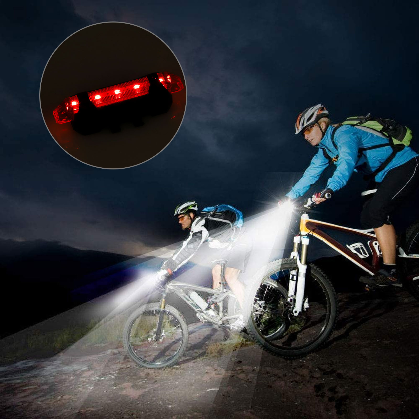 thumbnail 5 - IP65-Bike-Front-Rear-LED-Light-Set-USB-Rechargeable-Bicycle-Headlight-Taillight