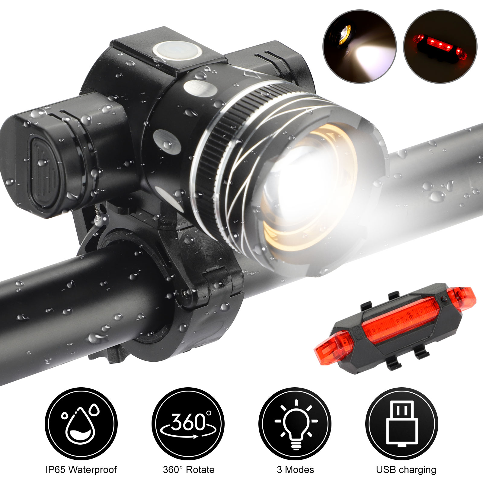 IP65-Bike-Front-Rear-LED-Light-Set-USB-Rechargeable-Bicycle-Headlight-Taillight