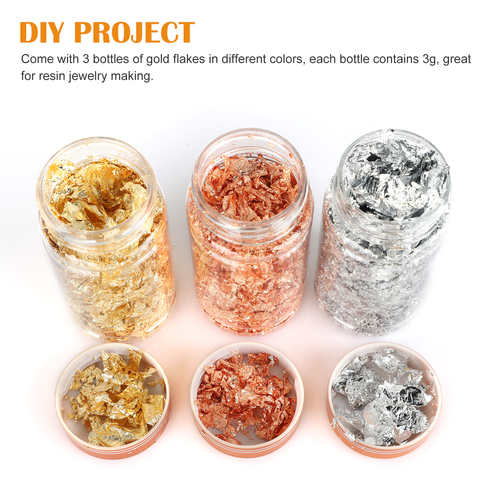 Gold-Foil-Leaf-Flake-Epoxy-Resin-Filling-Materials-DIY-Molds-Jewelry-Nail-Decor thumbnail 2