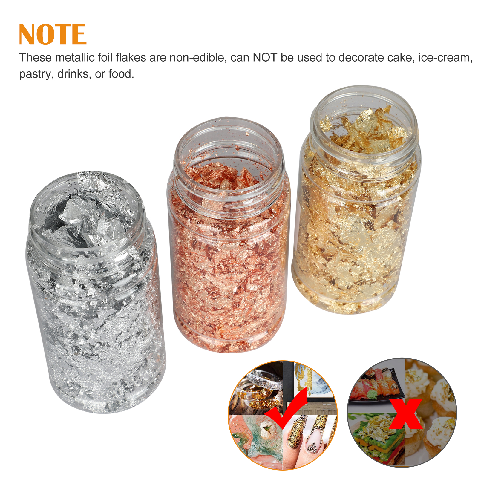 Gold-Foil-Leaf-Flake-Epoxy-Resin-Filling-Materials-DIY-Molds-Jewelry-Nail-Decor thumbnail 6