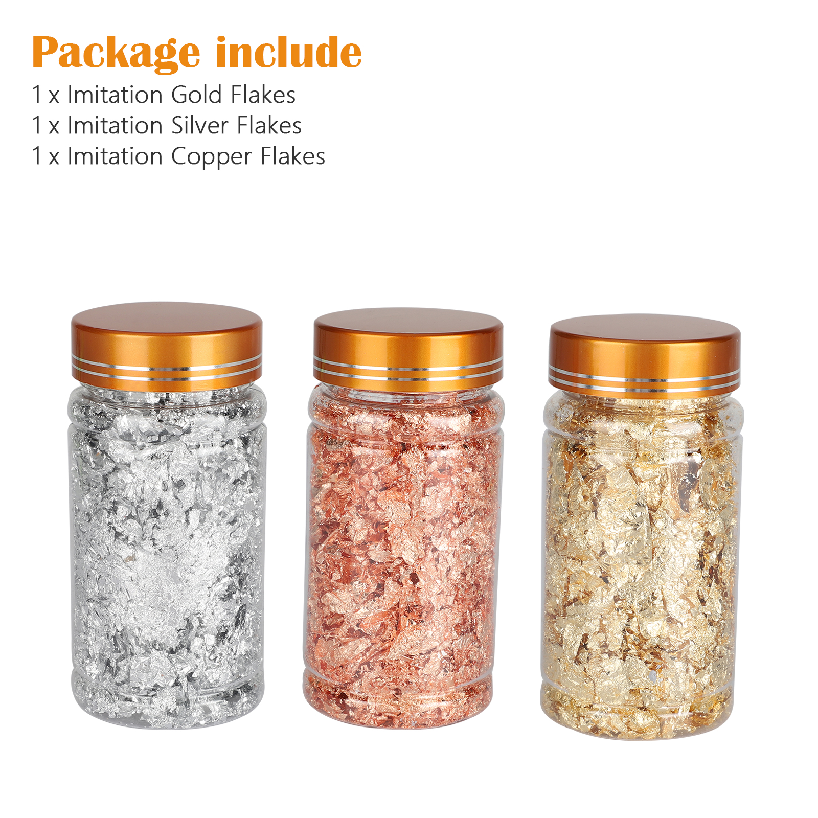 Gold-Foil-Leaf-Flake-Epoxy-Resin-Filling-Materials-DIY-Molds-Jewelry-Nail-Decor thumbnail 8
