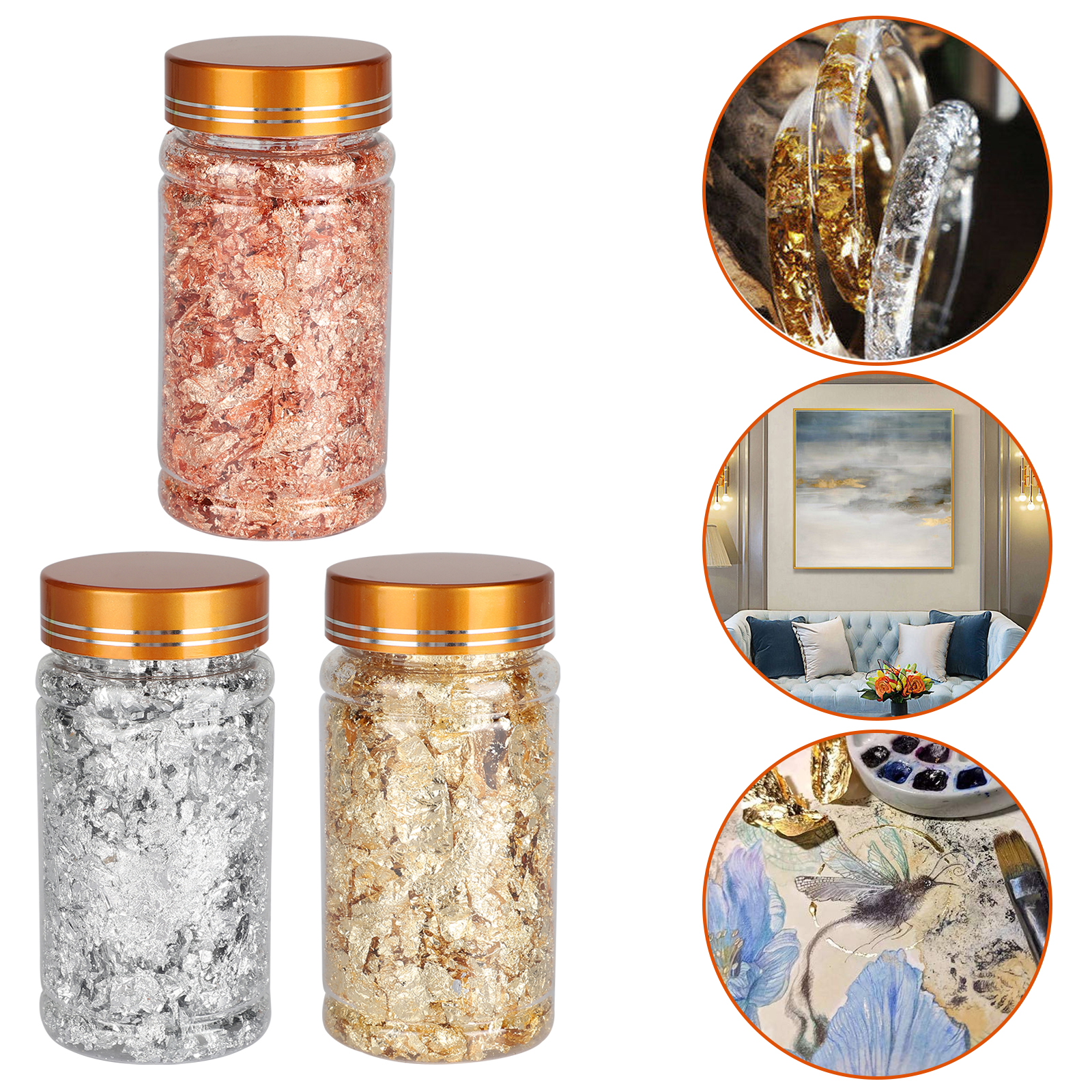 Gold-Foil-Leaf-Flake-Epoxy-Resin-Filling-Materials-DIY-Molds-Jewelry-Nail-Decor