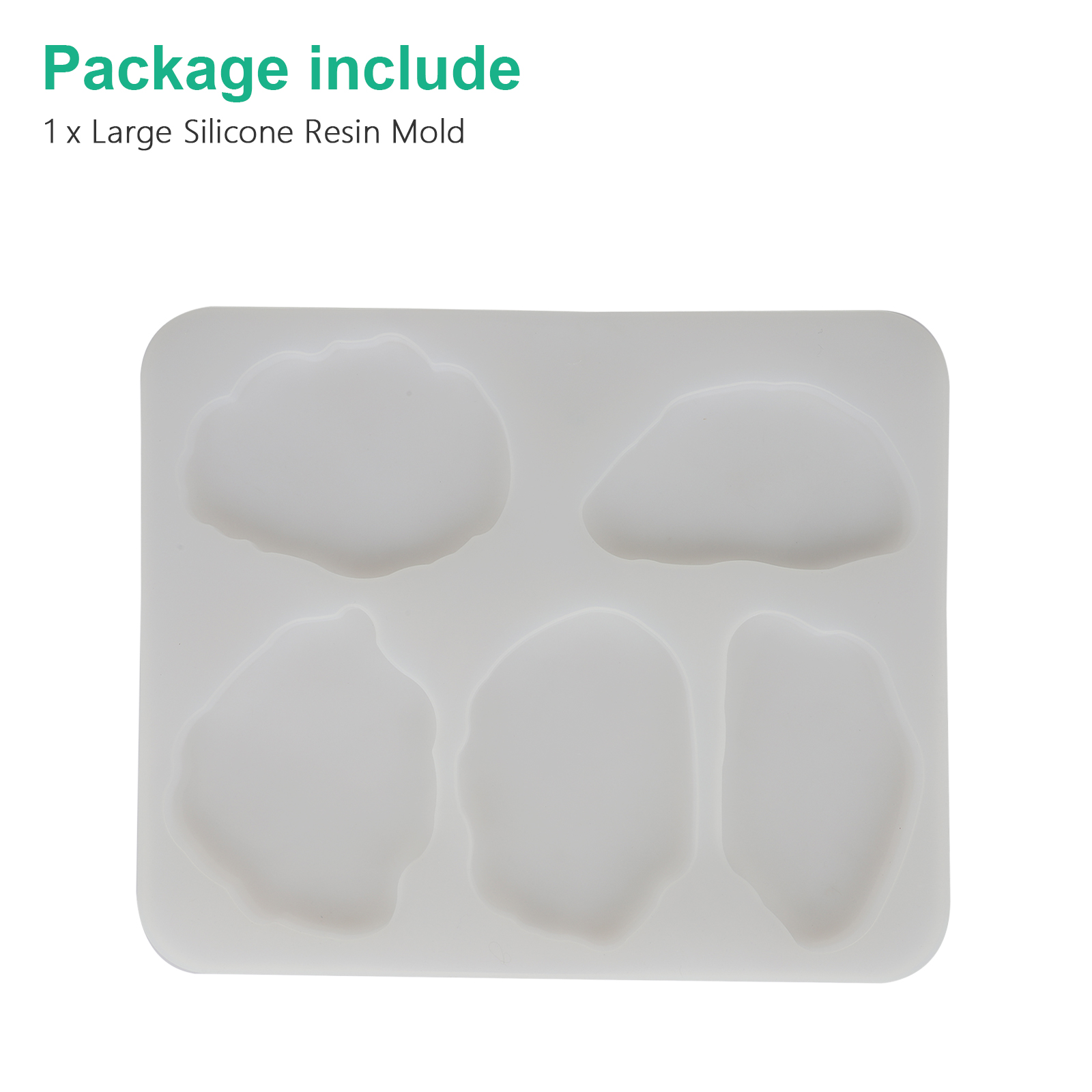 Silicone-Coaster-Mold-Resin-Casting-Mould-Agate-Jewelry-Clay-Making-Art-DIY-Tool thumbnail 8