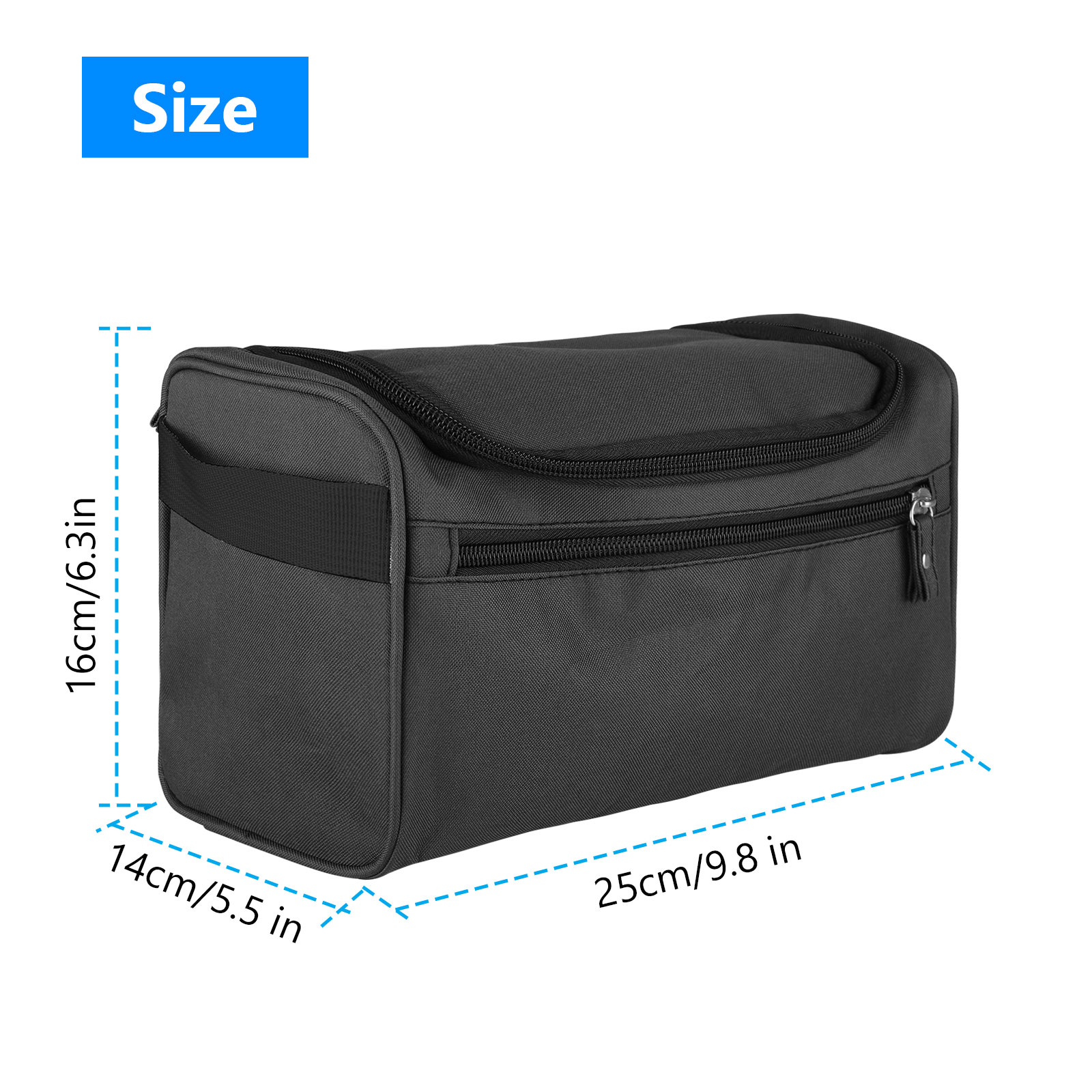 Travel-Wash-Bag-Toiletry-Organizer-Shaving-Cosmetic-Make-up-Case-Waterproof-Mens thumbnail 8