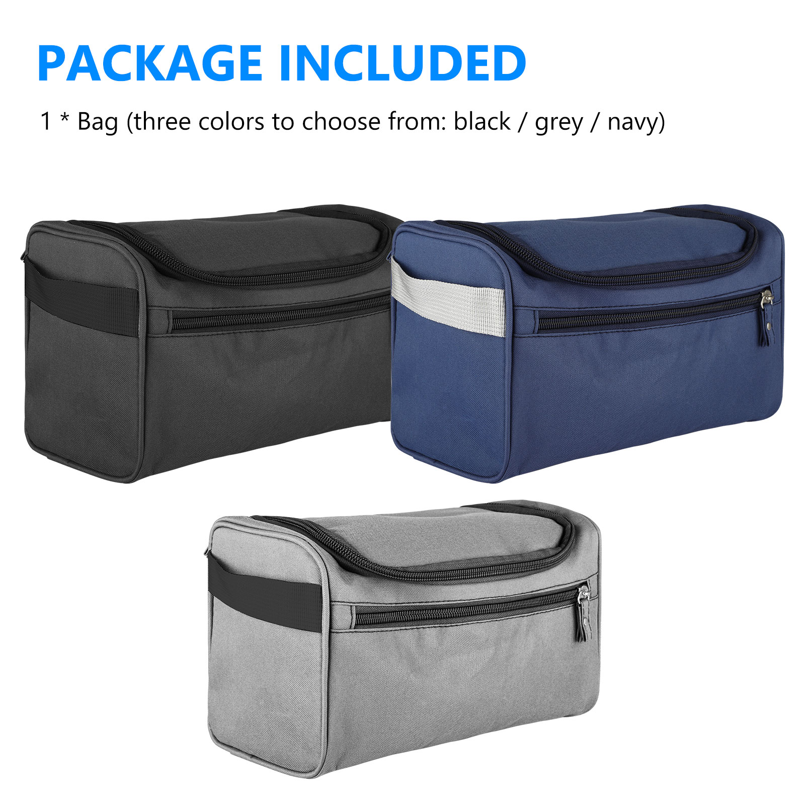 Travel-Wash-Bag-Toiletry-Organizer-Shaving-Cosmetic-Make-up-Case-Waterproof-Mens thumbnail 9
