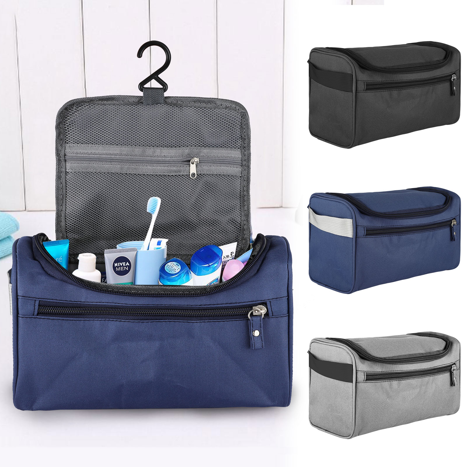 Travel-Wash-Bag-Toiletry-Organizer-Shaving-Cosmetic-Make-up-Case-Waterproof-Mens