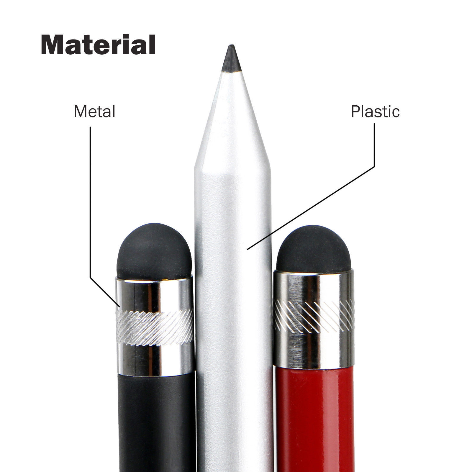 Capacitive-Pen-Touch-Screen-Stylus-Pencil-for-Tablet-iPad-Cell-Phone-Samsung-PC thumbnail 4