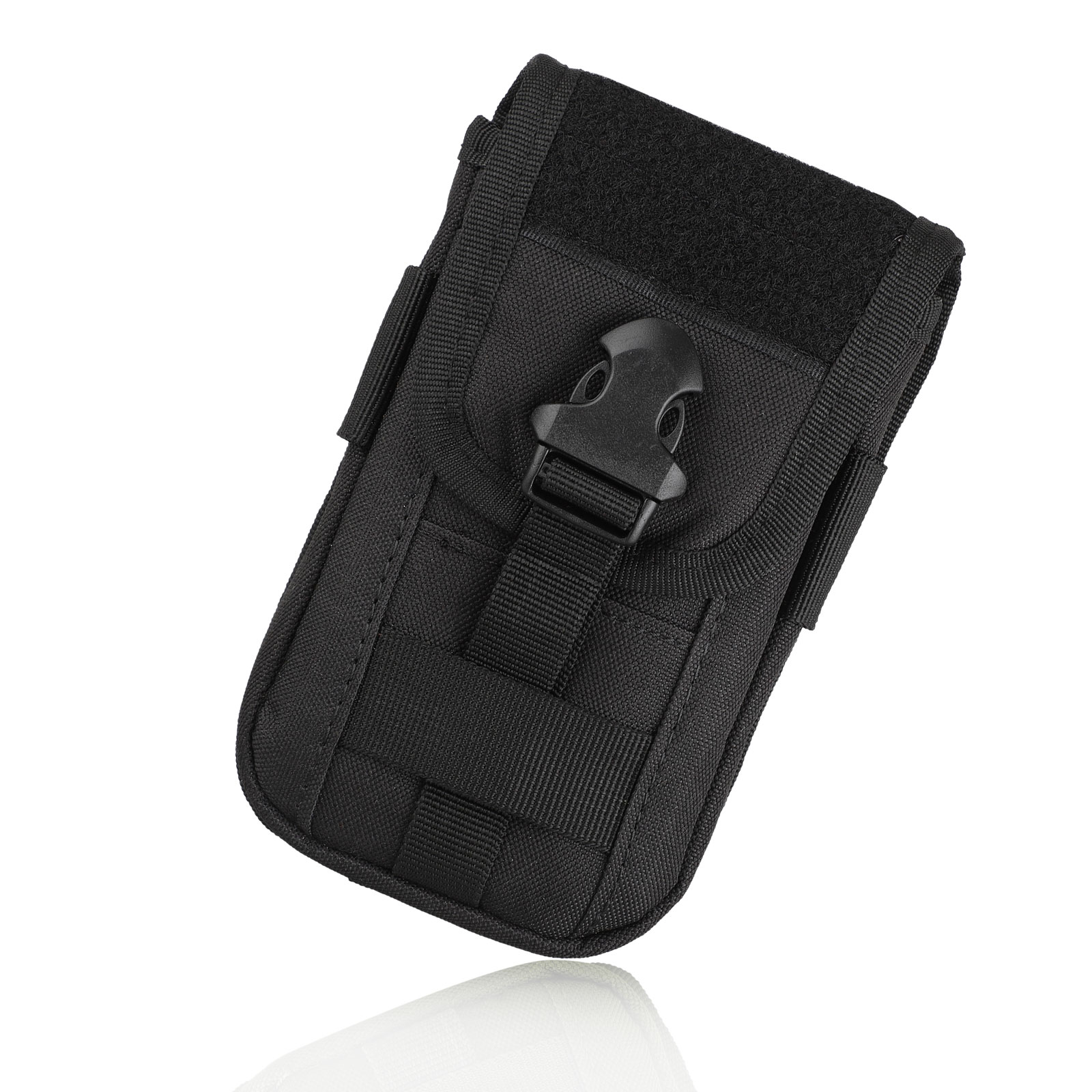 Universal-Tactical-Cell-Phone-Belt-Pack-Bag-Pocket-Molle-Waist-Pouch-Case thumbnail 10