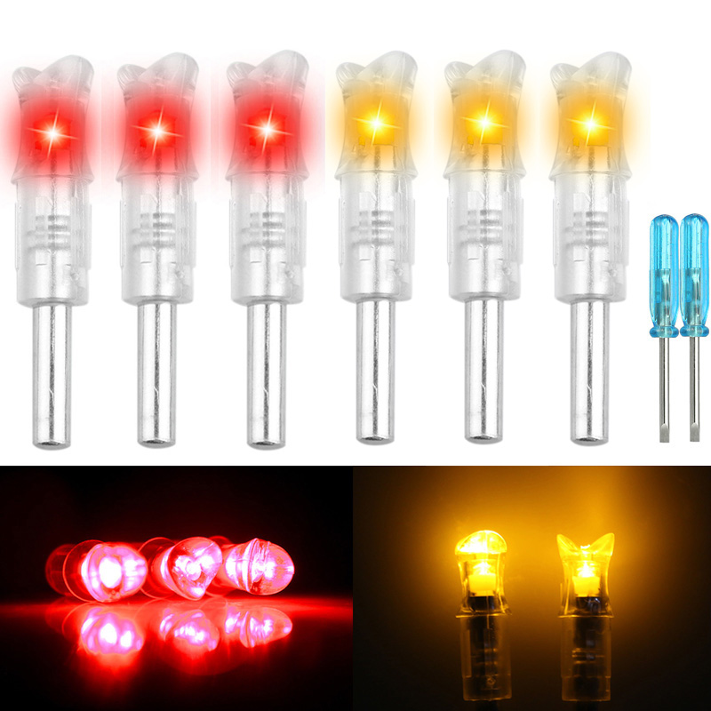 LOT-Automatically-LED-Lighted-Arrow-Nocks-Tail-for-Crossbow-Arrows-ID-297-302-039-039 thumbnail 16