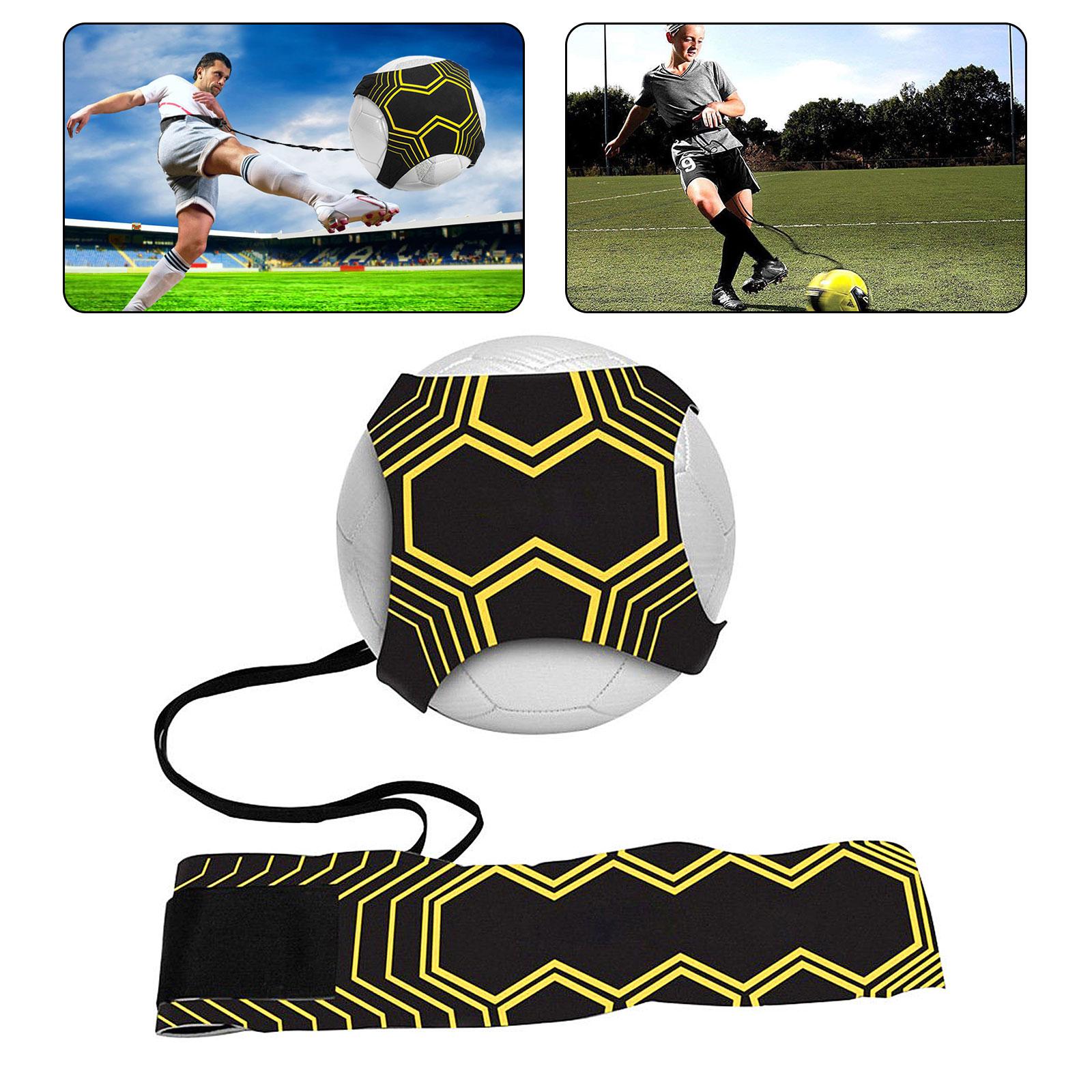 Football Ball Control training Device Soccer Goal Kick Practice Belt Equipment