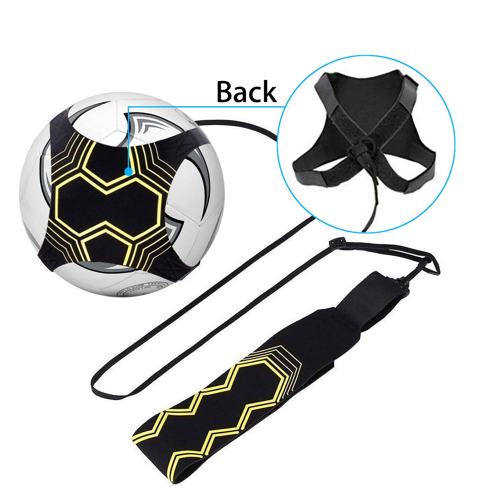Adjustable Football Kick Trainer Soccer Ball Train Equipment Practice Belt FG#1