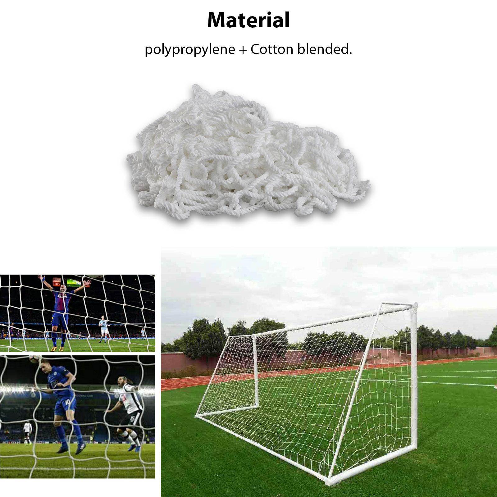 6-4ft-PE-Football-Soccer-Goal-Net-Outdoor-Backyard-Sport-Match-Training-for-Kids thumbnail 5