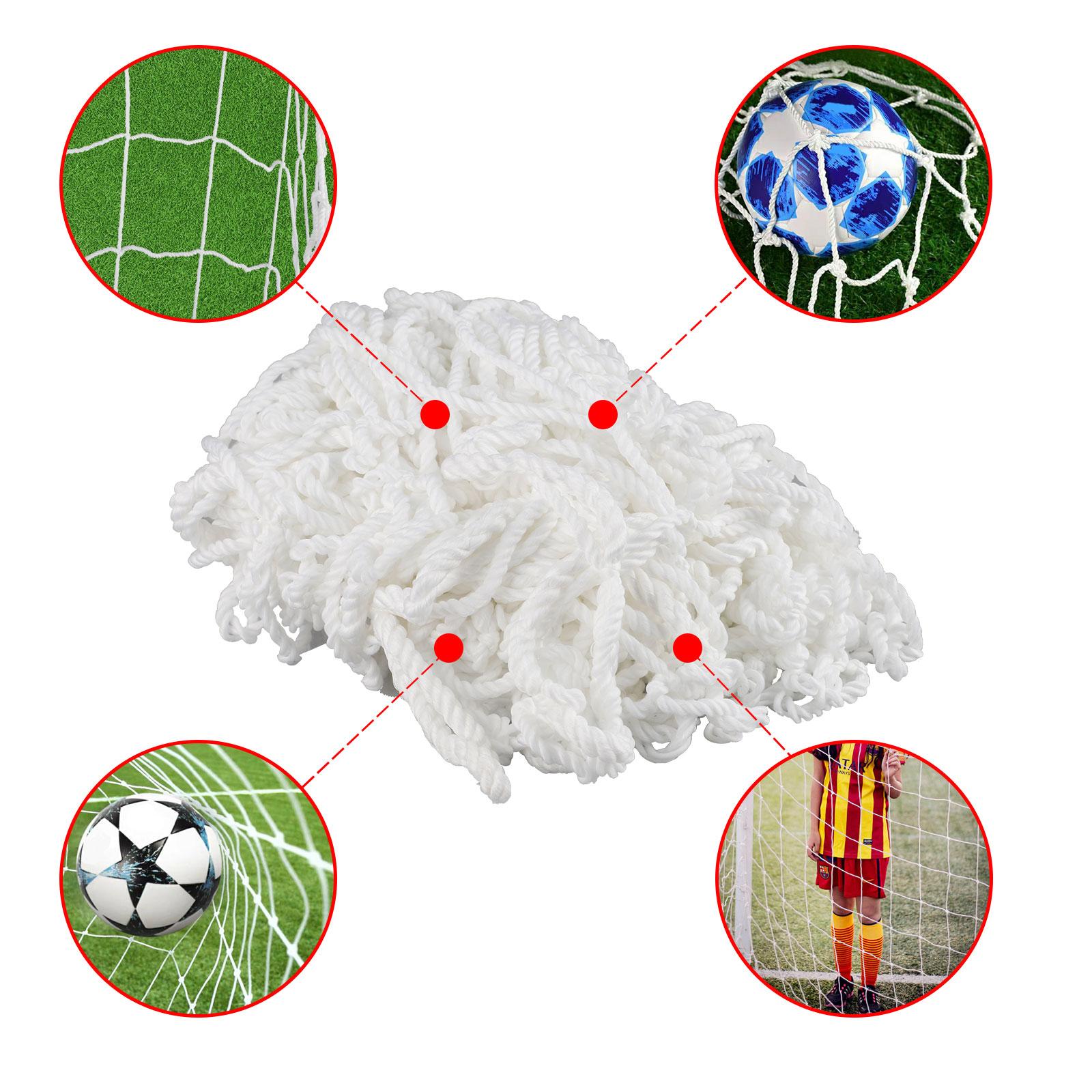 6-4ft-PE-Football-Soccer-Goal-Net-Outdoor-Backyard-Sport-Match-Training-for-Kids thumbnail 8