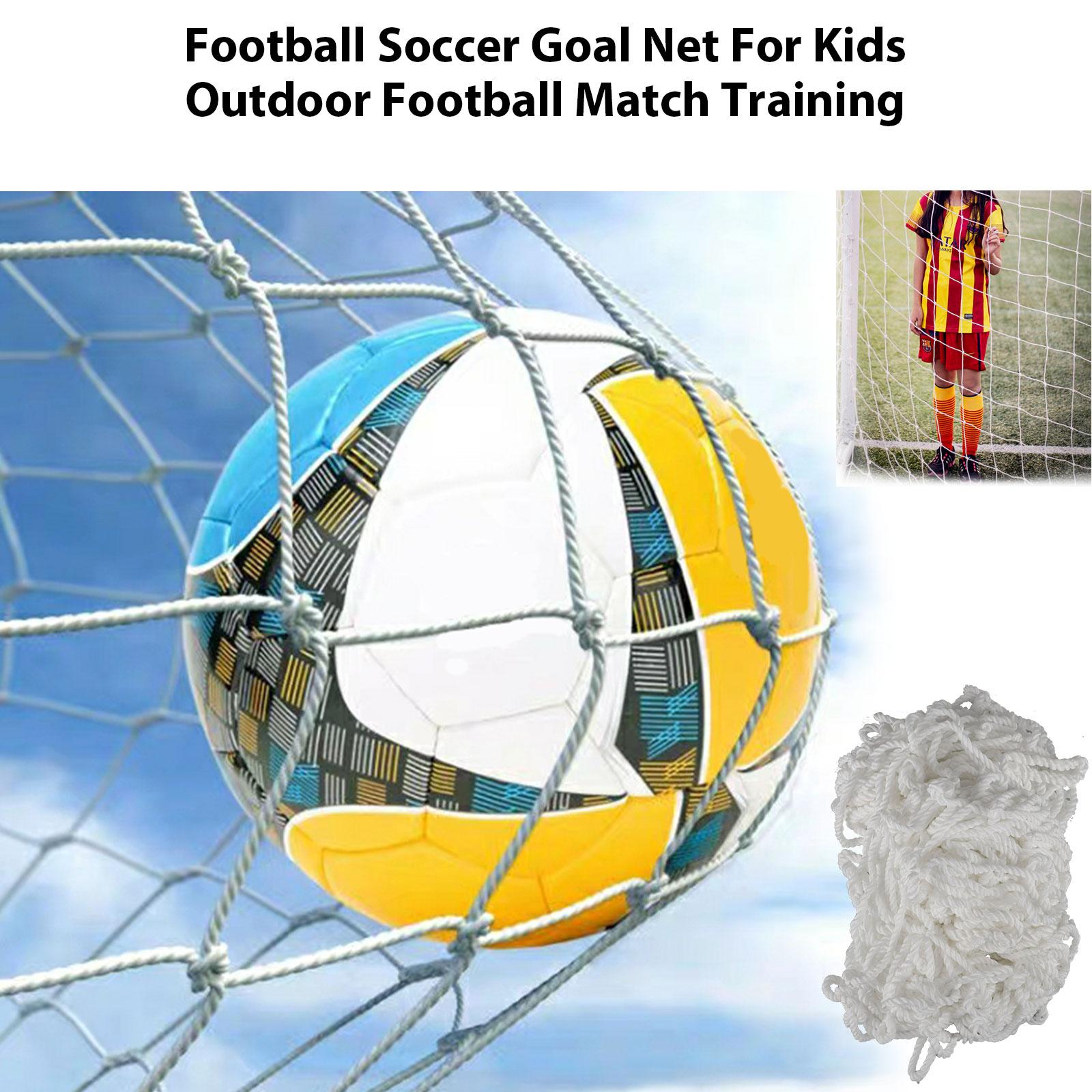 6-4ft-PE-Football-Soccer-Goal-Net-Outdoor-Backyard-Sport-Match-Training-for-Kids thumbnail 2