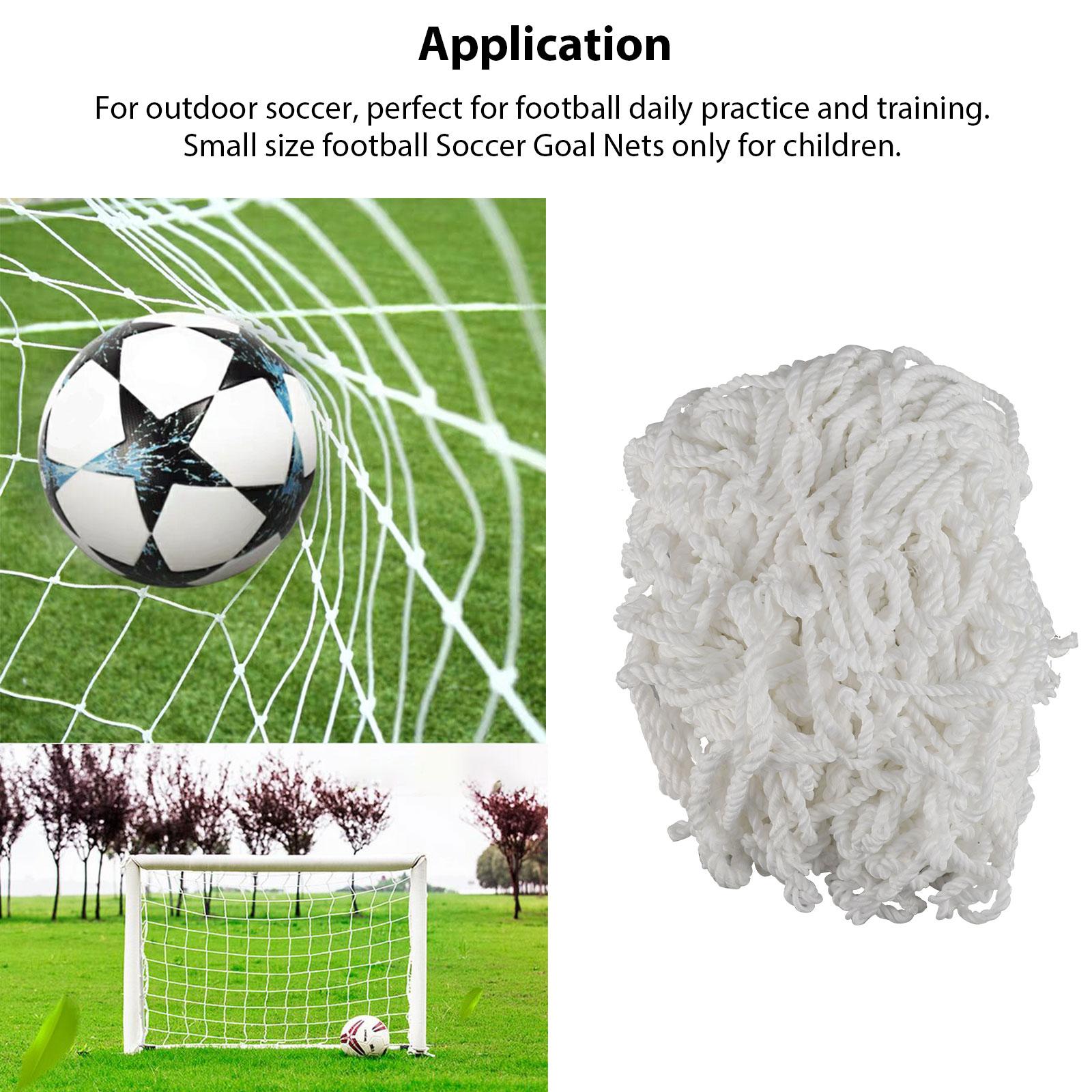 6-4ft-PE-Football-Soccer-Goal-Net-Outdoor-Backyard-Sport-Match-Training-for-Kids thumbnail 4