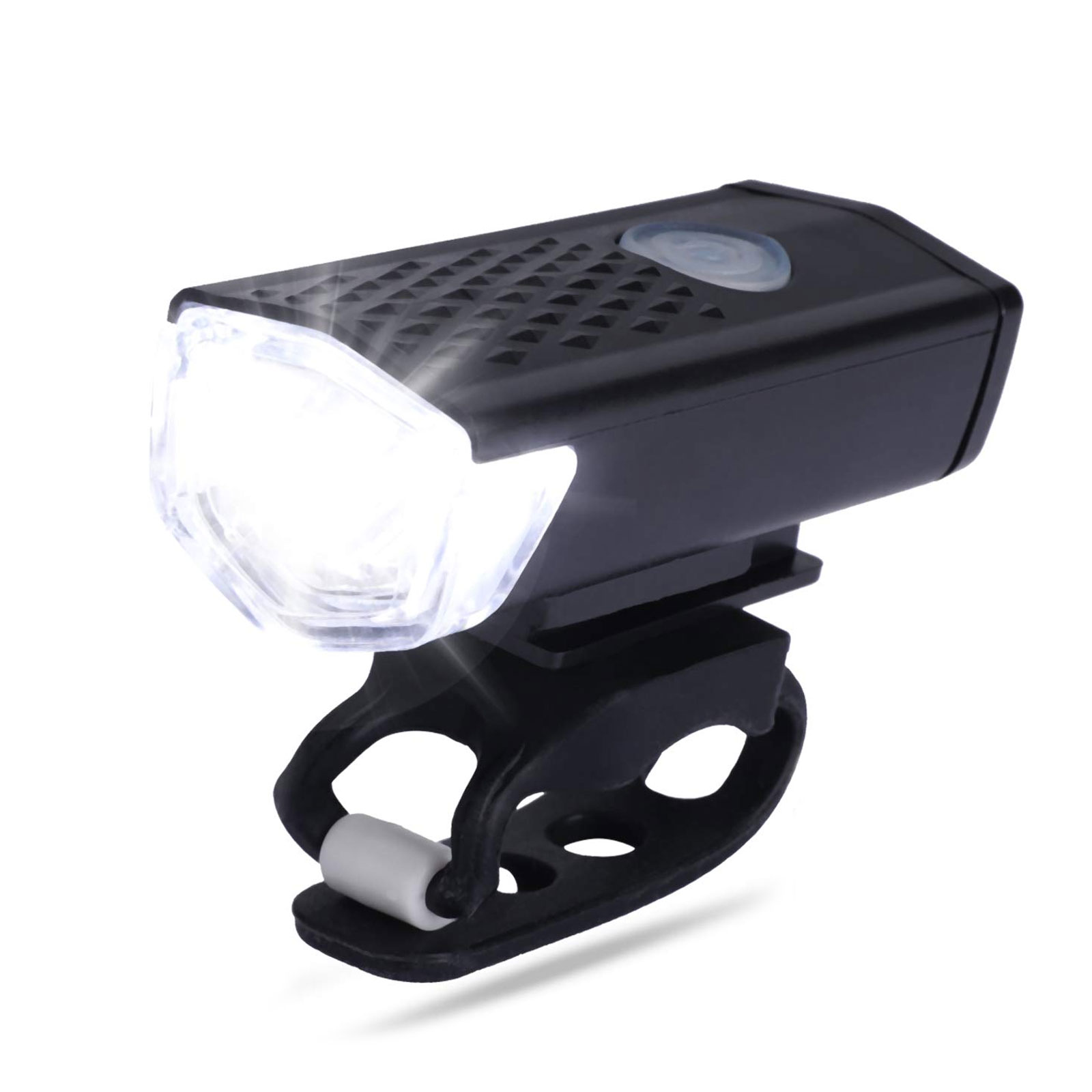 thumbnail 46 - LED-USB-Rechargeable-Bycicle-Light-Headlamp-Headlight-Bike-Front-Rear-Lamp-3Mode