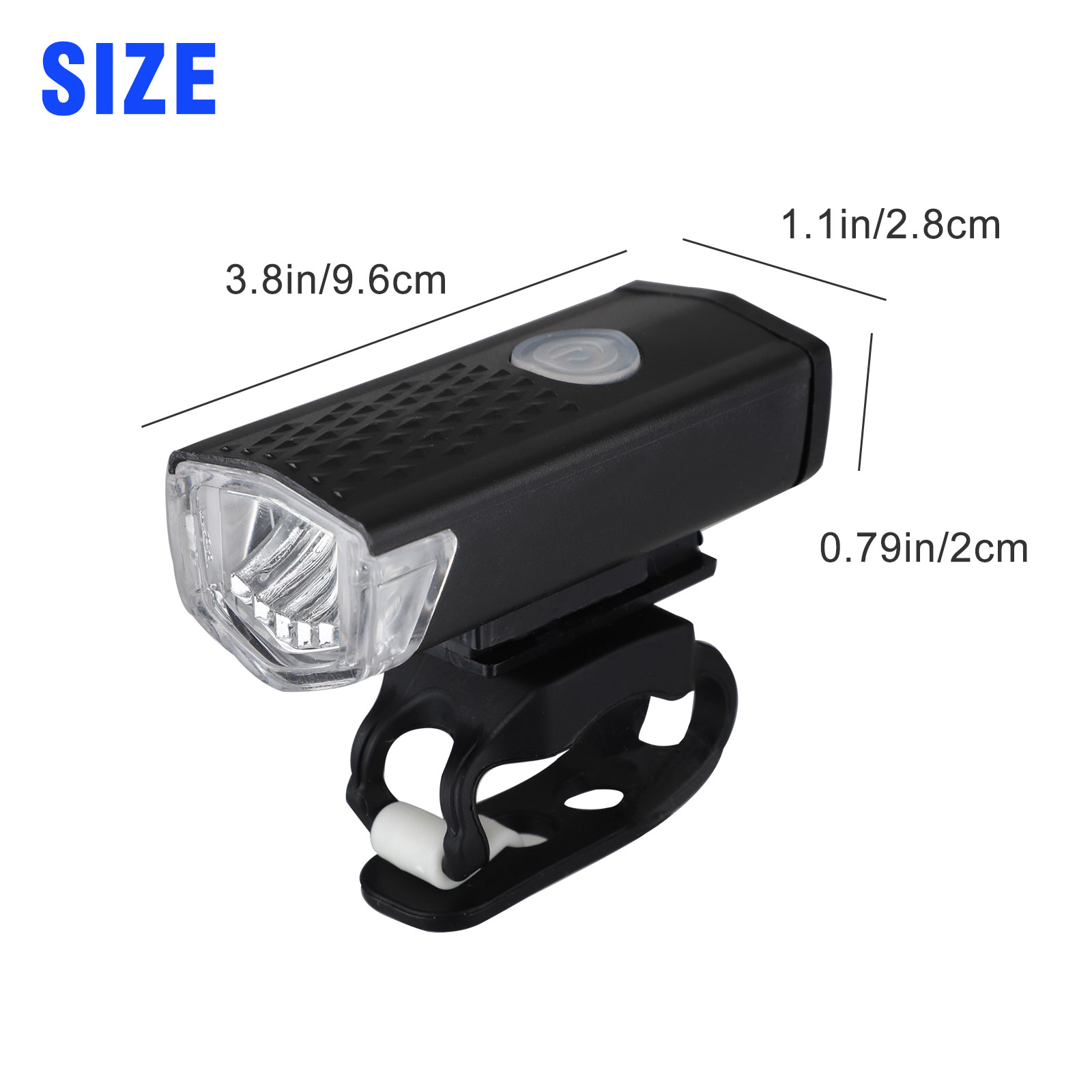 thumbnail 44 - LED-USB-Rechargeable-Bycicle-Light-Headlamp-Headlight-Bike-Front-Rear-Lamp-3Mode
