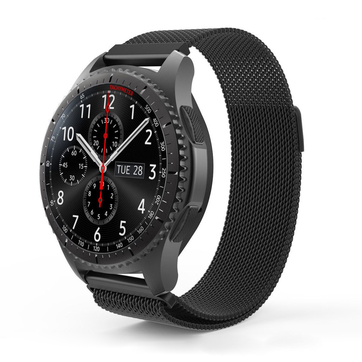 metal magnetic milanese watch band strap for samsung gear s3 frontier classic ebay