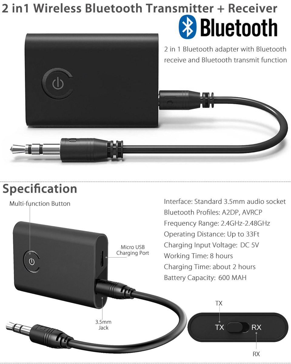 Transmitter audio bluetooth 2 1 mp3 logilink wireless webcam